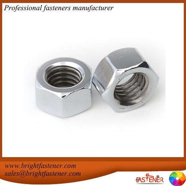 DIN934 DIN5587 Carbon Steel Hex Nuts