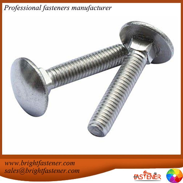 DIN603 Cup Head Square Neck Bolts